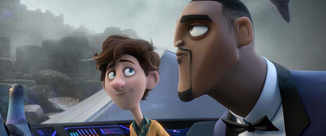 湯姆霍蘭德與威爾史密斯聲音演出「變身特務」,是春節動畫強片。圖/摘自imdb