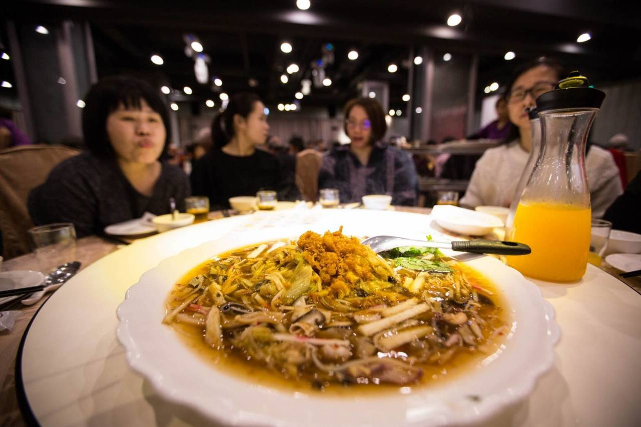 基隆山藥大餐今晚登場席開百桌,10道創意料理好吃。圖/基隆市政府提供