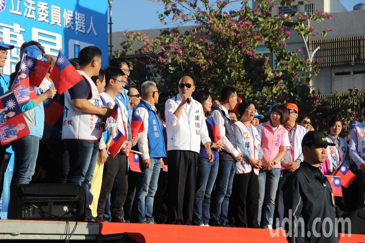 韓國瑜彰化競選總部今天成立。記者林敬家/攝影