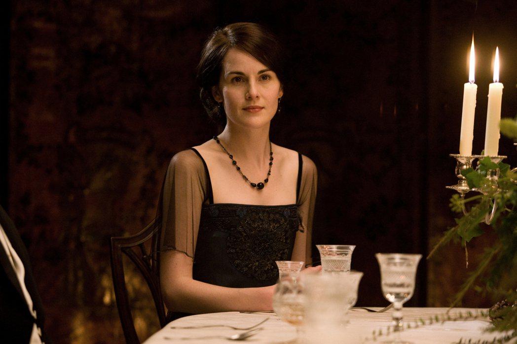 蜜雪兒道克瑞因「唐頓莊園」走紅。圖/摘自imdb