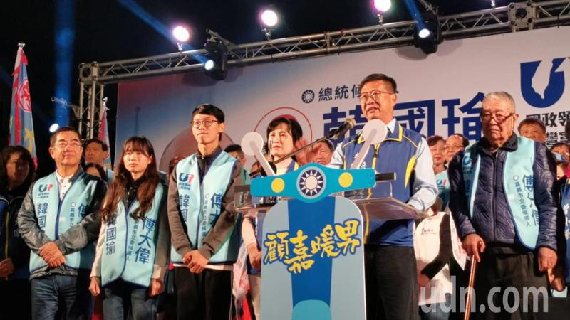 國民黨嘉義市立委候選人傅大偉提出「五幸福」政見,盼讓嘉義市成為適合居住的幸福城市。記者卜敏正/攝影