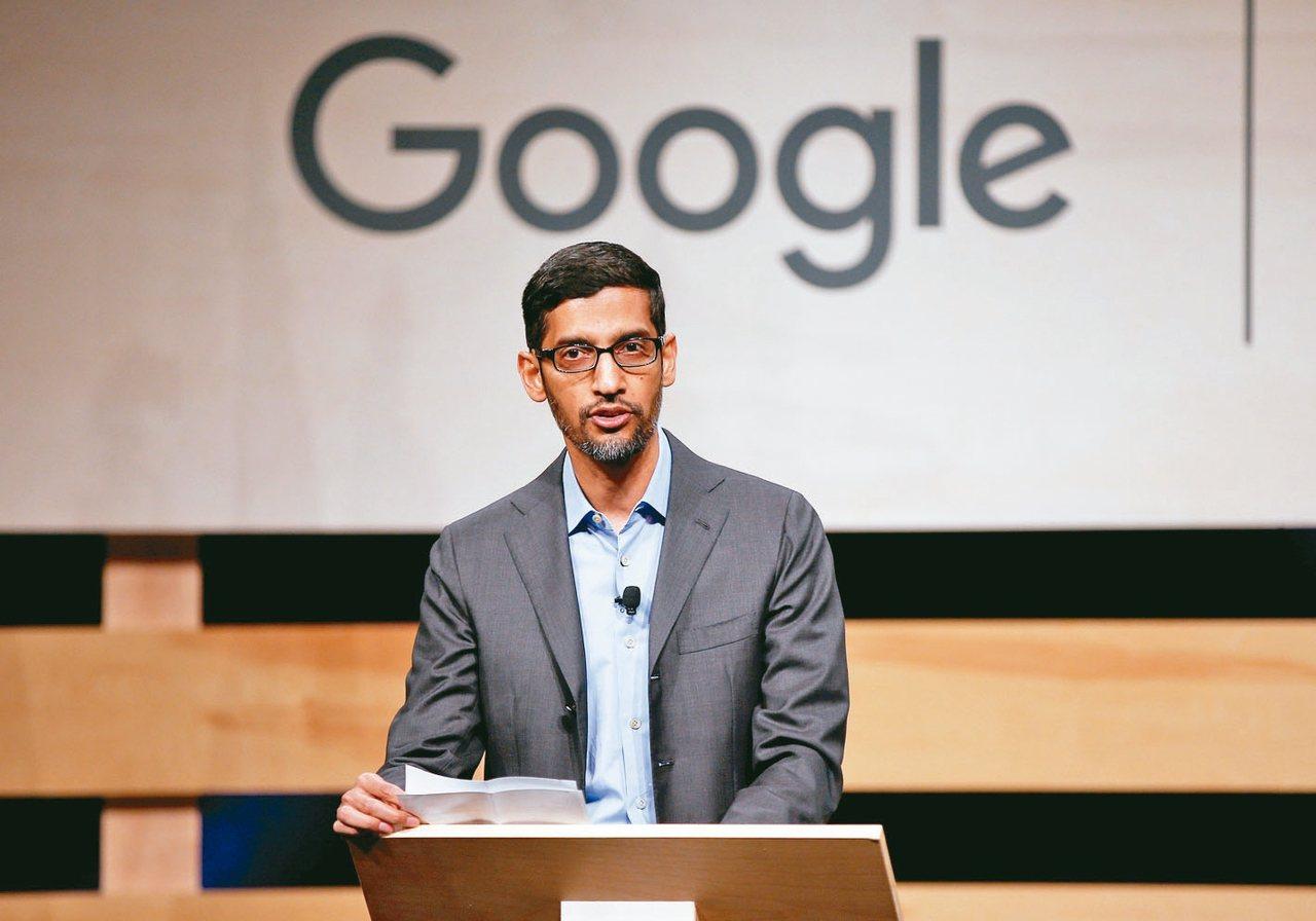 谷歌母公司Alphabet新當家皮采。 (路透)