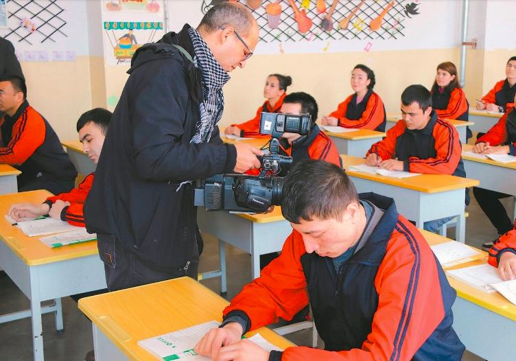 近年來新疆「再教育營」人權狀況,受國際社會高度關注。 (新華社)