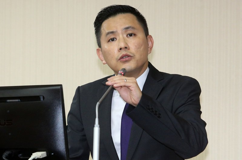 國民黨代表、不分區排名第10的陳以信。聯合報系資料照片/記者胡經周攝影