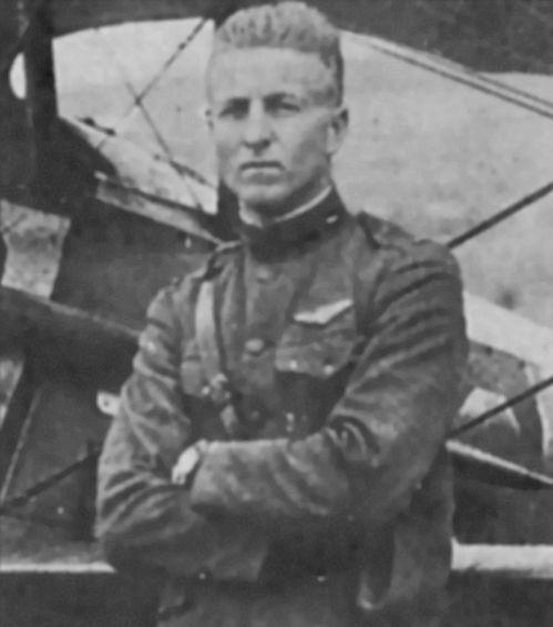 路克少尉是第一次大戰的美軍空戰英雄,路克基地以他命名。(翻攝自維基百科)