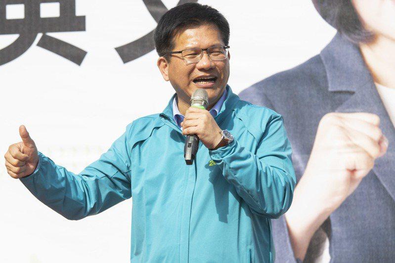 交通部長林佳龍今表示,遠航雖然提出陳述書,但不代表就可以得到民航局的背書。記者王敏旭/攝影