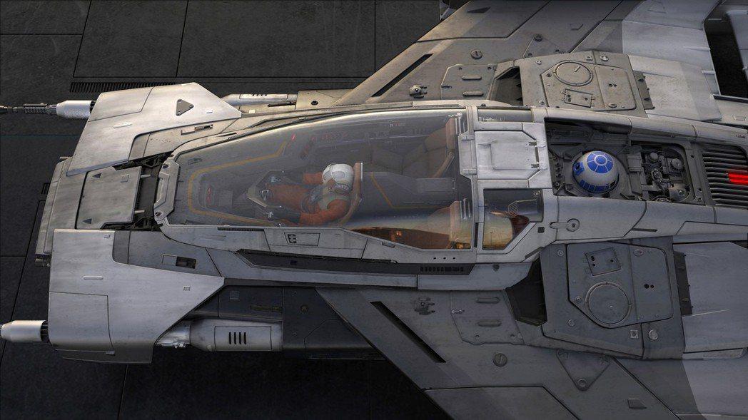飛船巧妙融合電影世界及保時捷車款設計元素。 圖/Porsche提供
