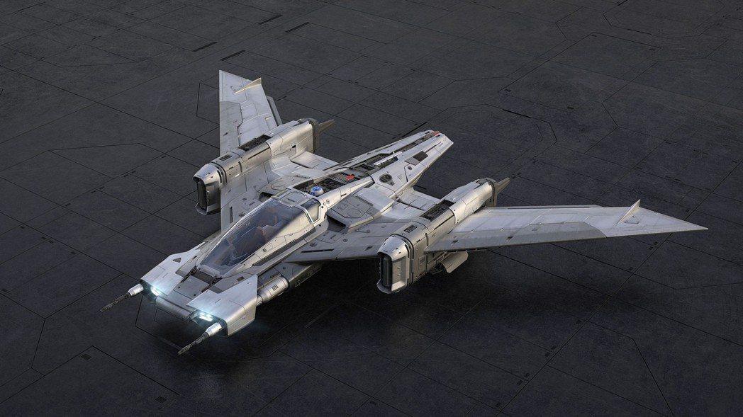 保時捷和盧卡斯電影公司的設計師們聯手推出了一款名為「Tri-Wing S-91x...