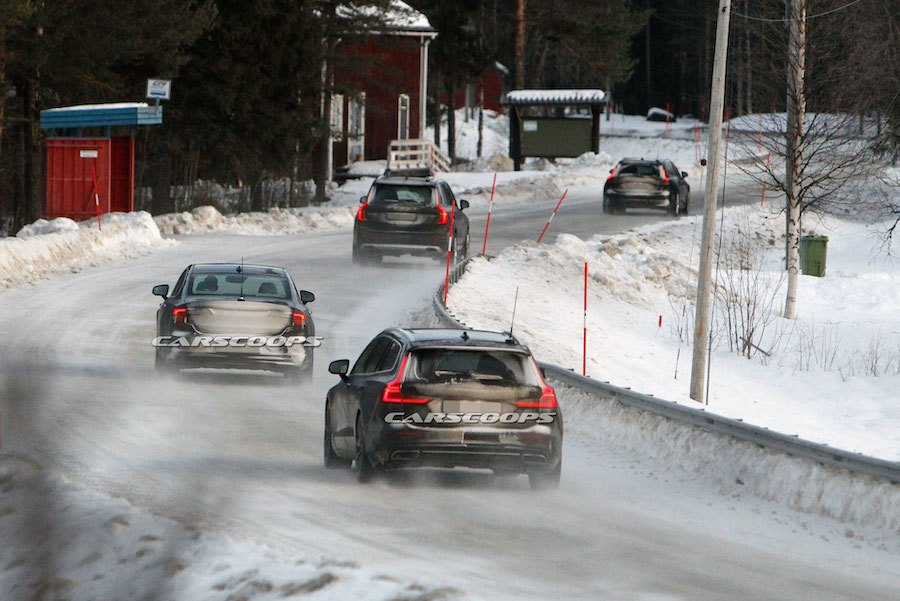 Volvo小改款S90/V90車系 全員參與雪地測試!