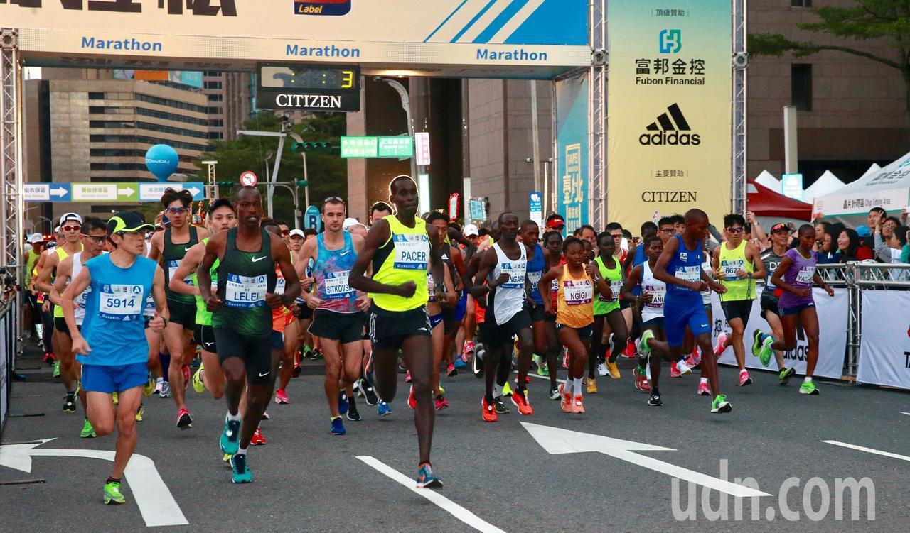 來自國際的馬拉松選手、國内名將蔣介文、朱盈穎,帶領來自62個國家的好手一同出發。...