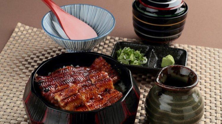 江戶川提供有多種鰻魚料理。 圖/江戶川提供