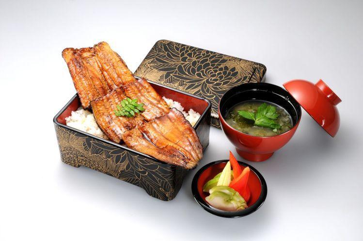 由日本鰻魚職人森正道所監製的「鰻重總本家」。圖/鰻重總本家提供