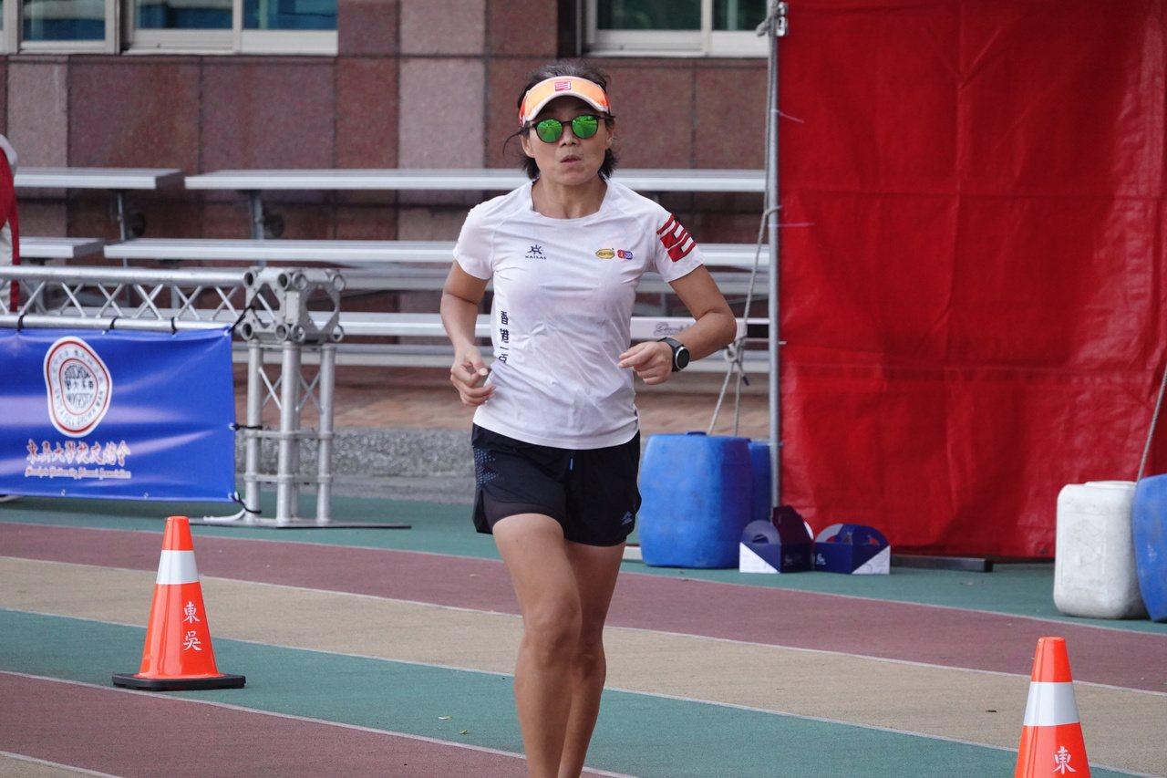 香港好手吳益華摘下女子組第一名。記者毛琬婷/攝影