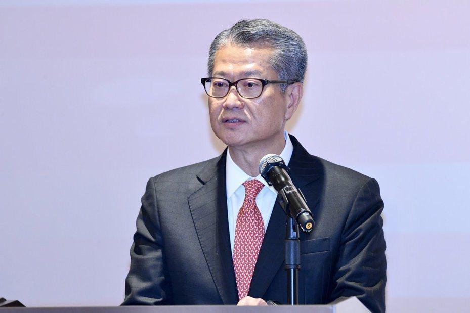 香港財政司司長陳茂波。照片/中新社