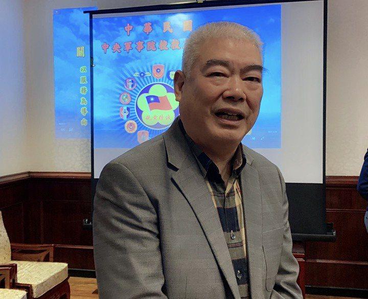 中華民國中央軍事院校校友總會理事長季麟連。圖/本報資料照片
