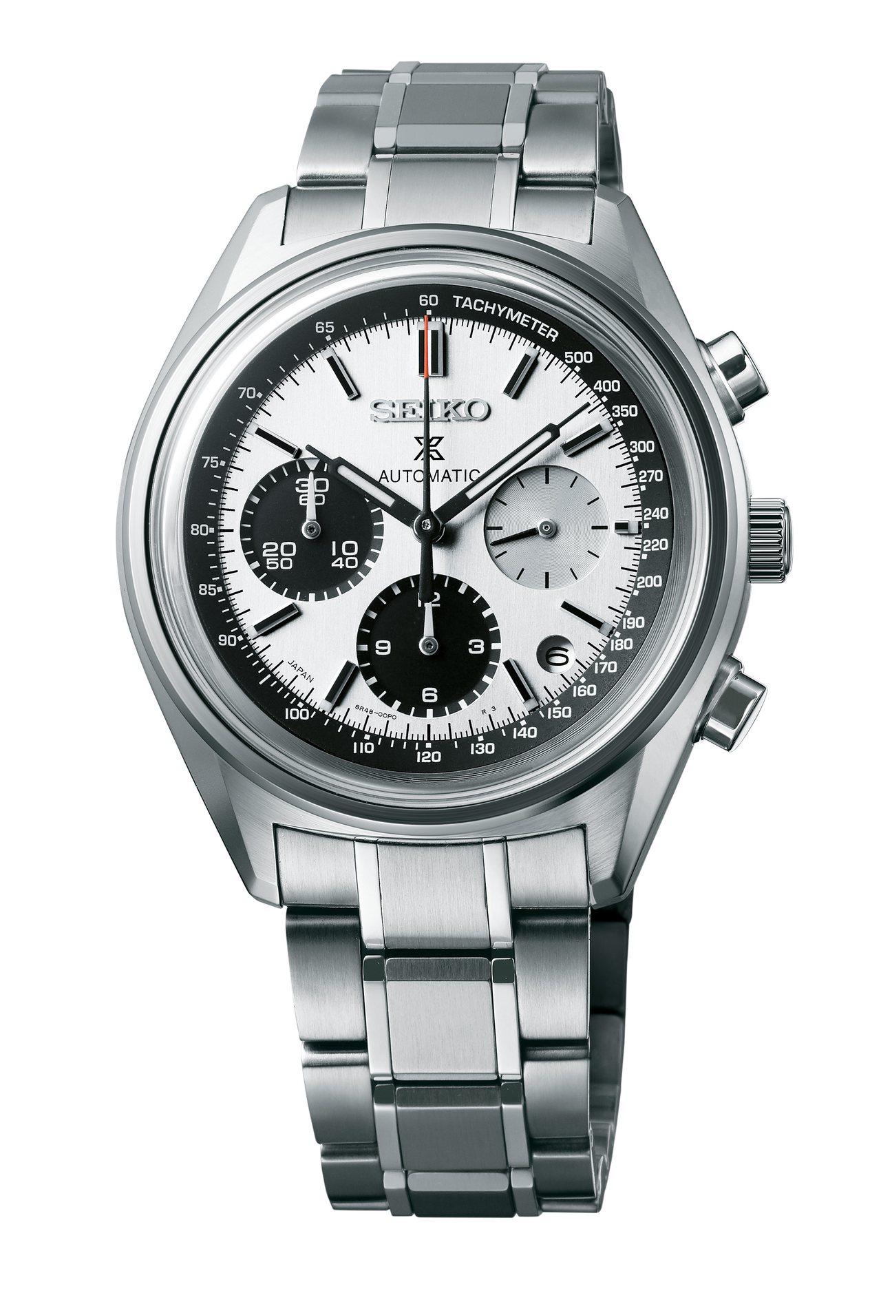 SEIKO Prospex計時碼表50周年紀念款,不鏽鋼表殼、表鍊,限量1,00...