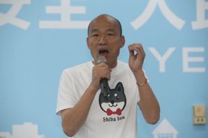 韓國瑜嗆綠:莫非不投給民進黨就不是台灣人嗎?
