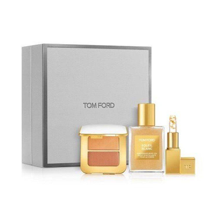 TOM FORD太陽輕吻金箔閃耀彩妝限量禮盒/4,800元。圖/TOM FORD...