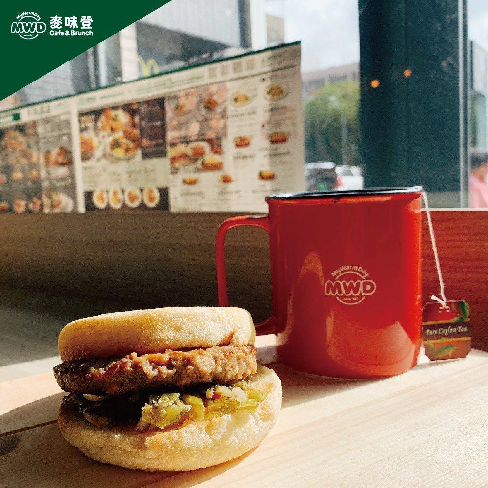 麥味登早餐也相當受到喜愛。圖/摘自麥味登粉絲專頁