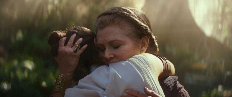 「STAR WARS:天行者的崛起」是嘉莉費雪生前最後一部電影。圖/迪士尼提供