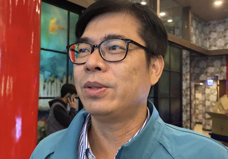 行政院副院長陳其邁今天南下助選。記者修瑞瑩/攝影