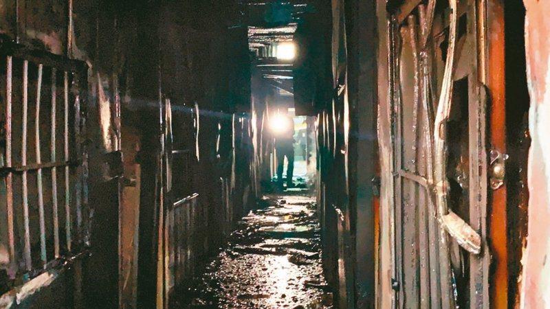 台南市玉井區一貫道真理前輩堂遭人縱火,造成7死3傷。  圖/聯合報系資料照片