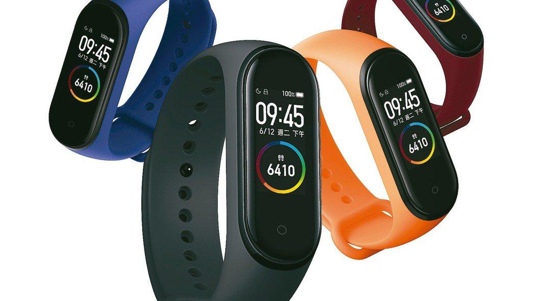 小米第三季包含智慧手表、智慧手環等腕上穿戴裝置全球出貨量達1220萬,年增74%...