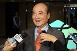 郭台銘問是否選黨主席 王金平:不會參選