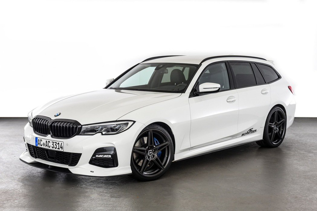 專改BMW的AC Schnitzer推出的BMW 3系列Touring。 圖/A...