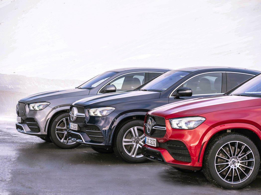 新世代Mercedes-Benz GLE Coupe已正式發表。 摘自Merce...
