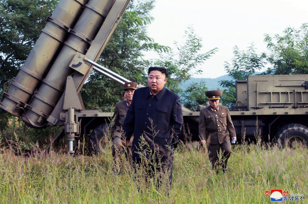 12月初,北韓聲明已完成「重大試驗」,外界研判很可能與研發測試洲際彈道飛彈(IC...