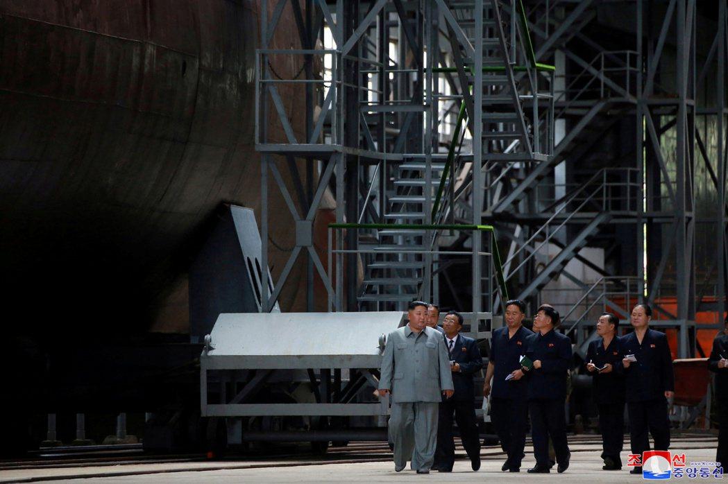 韓半島非核化,會在新年將至時,重新伸出「和平之手」嗎? 圖/美聯社