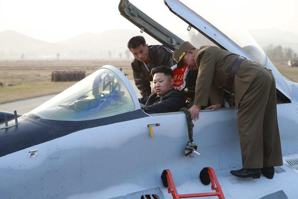 從這幾次的文宣可明顯發現,北韓的姿態與威脅水位,有所升高。 圖/法新社