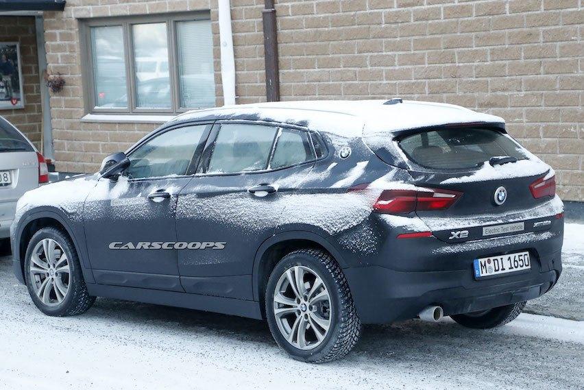 BMW純電車款再一發 X2電動車雪地現蹤!