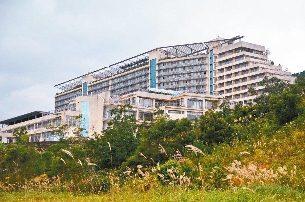淡江大學蘭陽校園位於宜蘭縣礁溪鄉林美山上。 圖/聯合報系資料照片