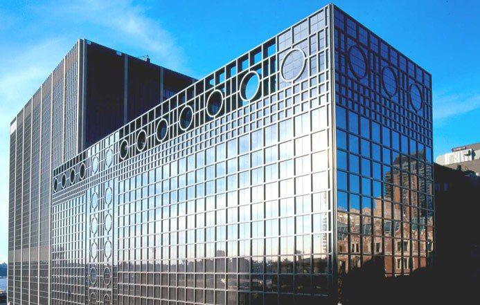美國國際香精香料公司(IFF)位於美國紐約的總部大樓。(網路圖片/擷自IFF官網...