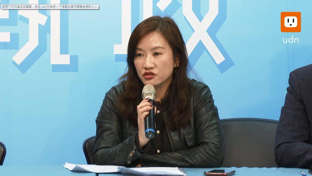 韓國瑜競選辦公室發言人王淺秋。本報資料照片