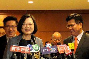 蔡英文:中國對台灣每個角落的滲透越來越嚴重