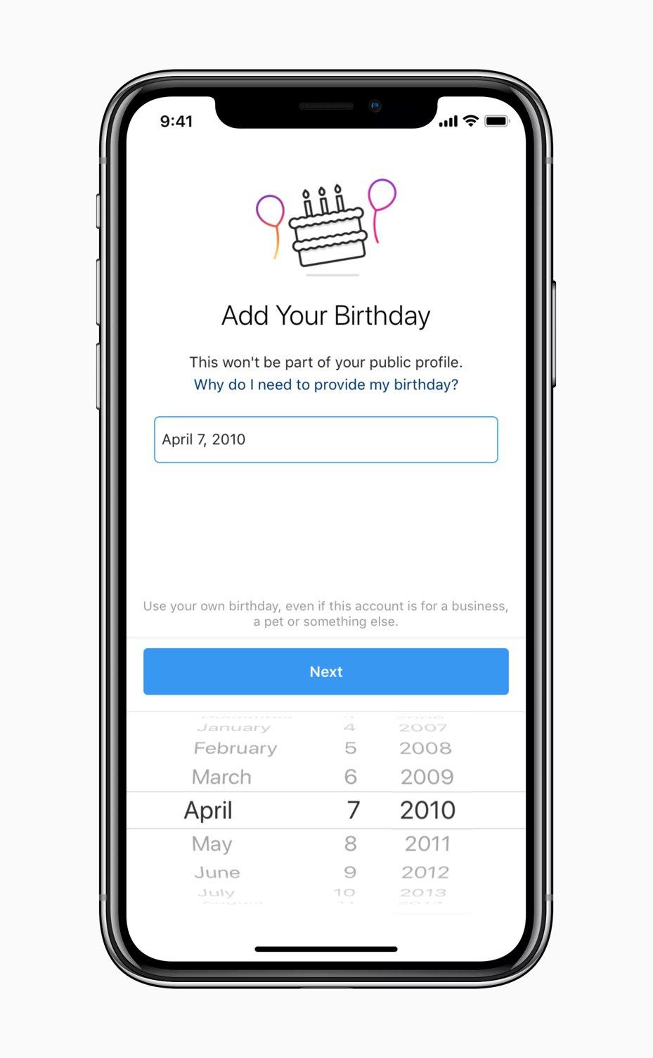 Instagram近期新增了對用戶的年齡限制,未滿13歲的使用者將無法新申請帳號。圖/摘自Instagram官網