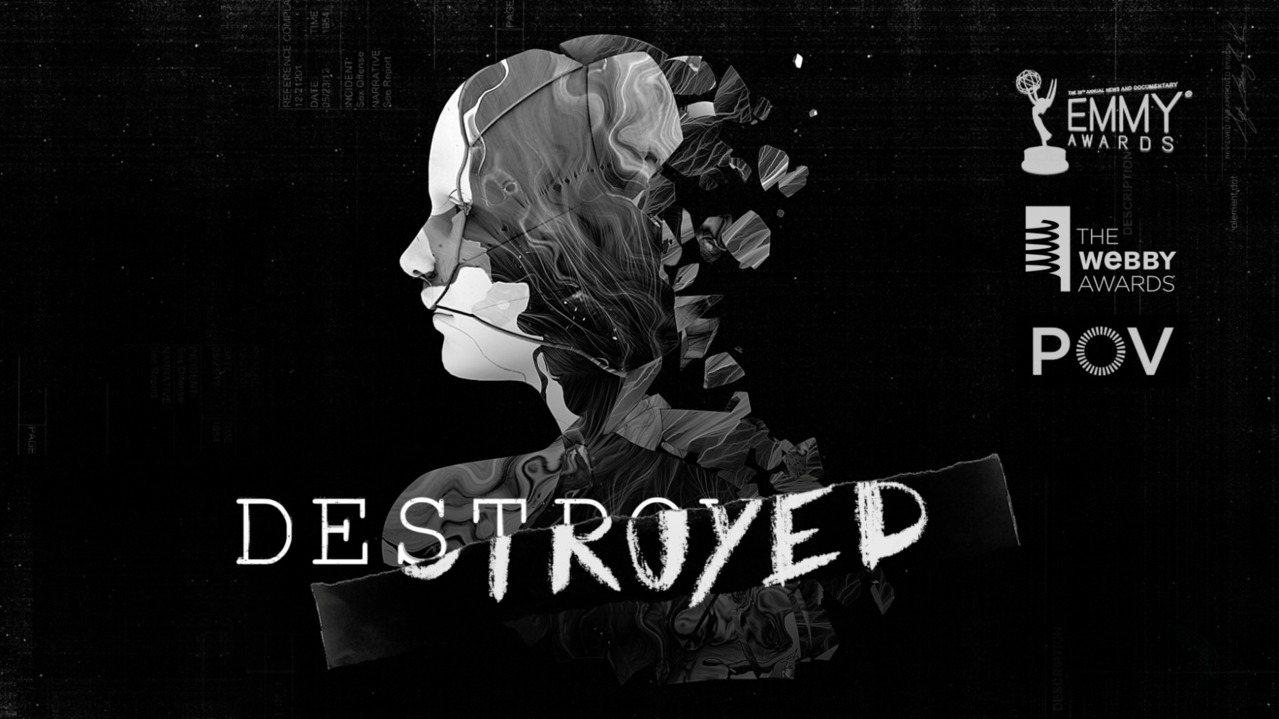 提名艾美獎短片《Destroyed》/翻攝畫面。