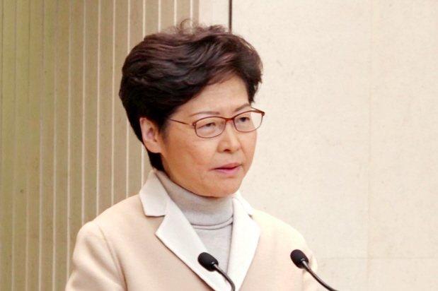 香港行政長官林鄭月娥。本報資料照片