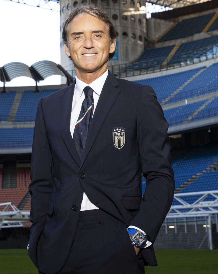 頂級腕表RICHARD MILLE為義大利國家足球隊教練,量身打造RM 11-0...