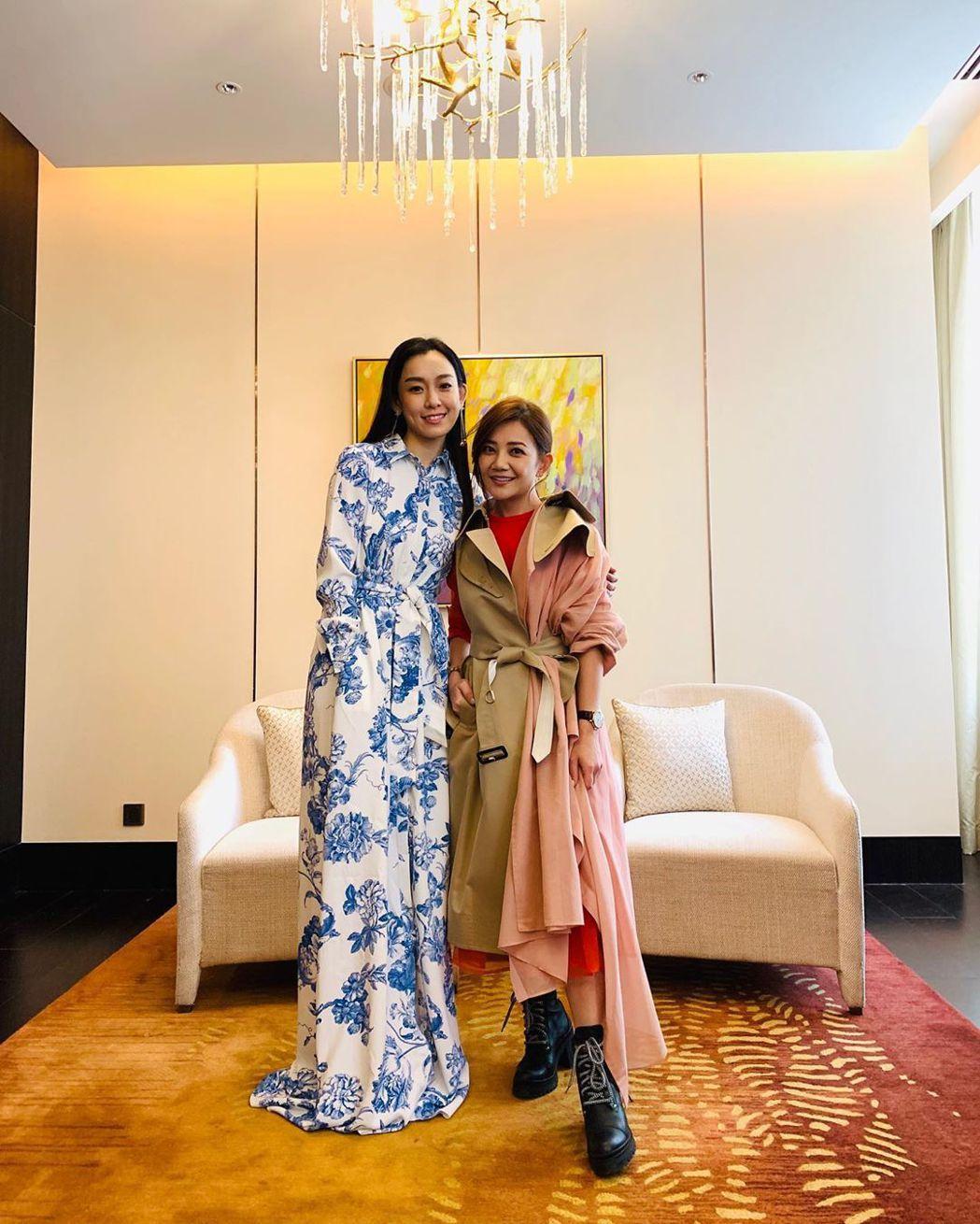 范瑋琪與梁靜茹是多年好友。 圖/擷自梁靜茹IG