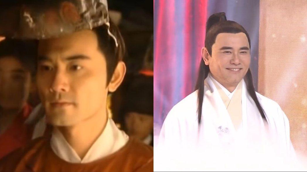 趙文瑄20年後再扮《大明宮詞》的薛紹,已變得不同。 左圖/擷自微博,右圖/擷自騰...