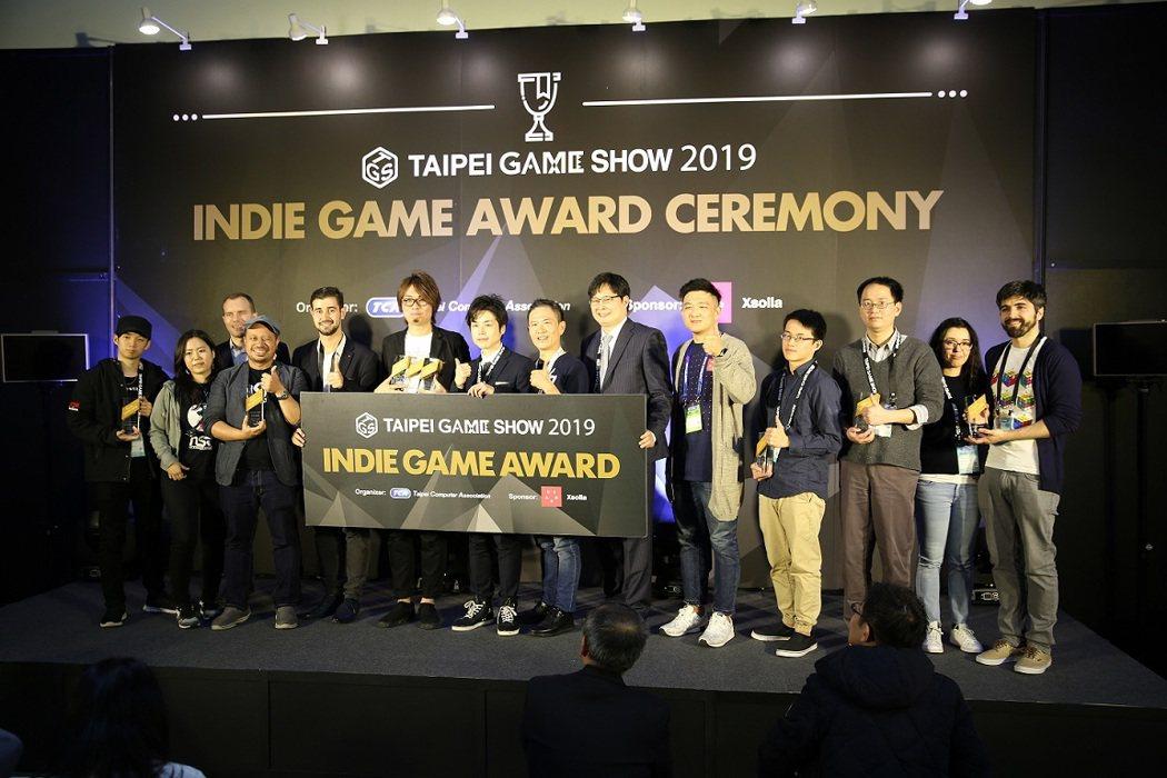2019年Indie Game Award盛況。2020台北國際電玩展Indie...