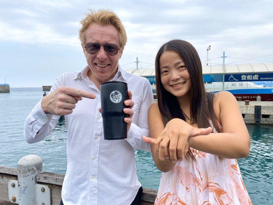 法國旅遊節目「Echappees belles」製作團隊上周到台灣環島拍攝,由海...