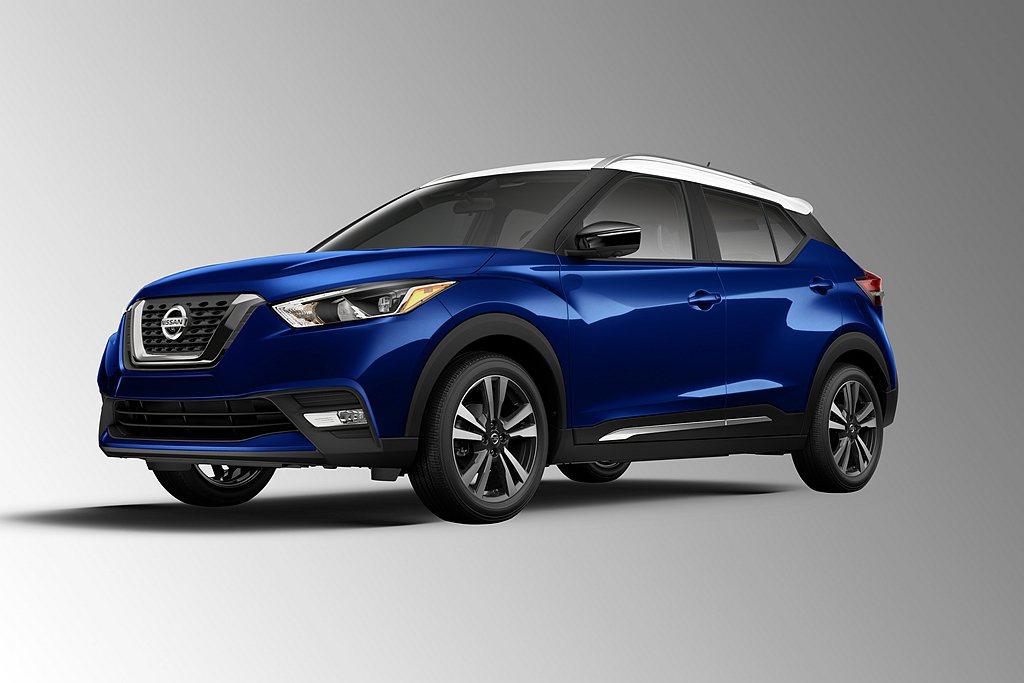 安全配備加強後,美規2020年式Nissan Kicks建議售價也自去年18,6...