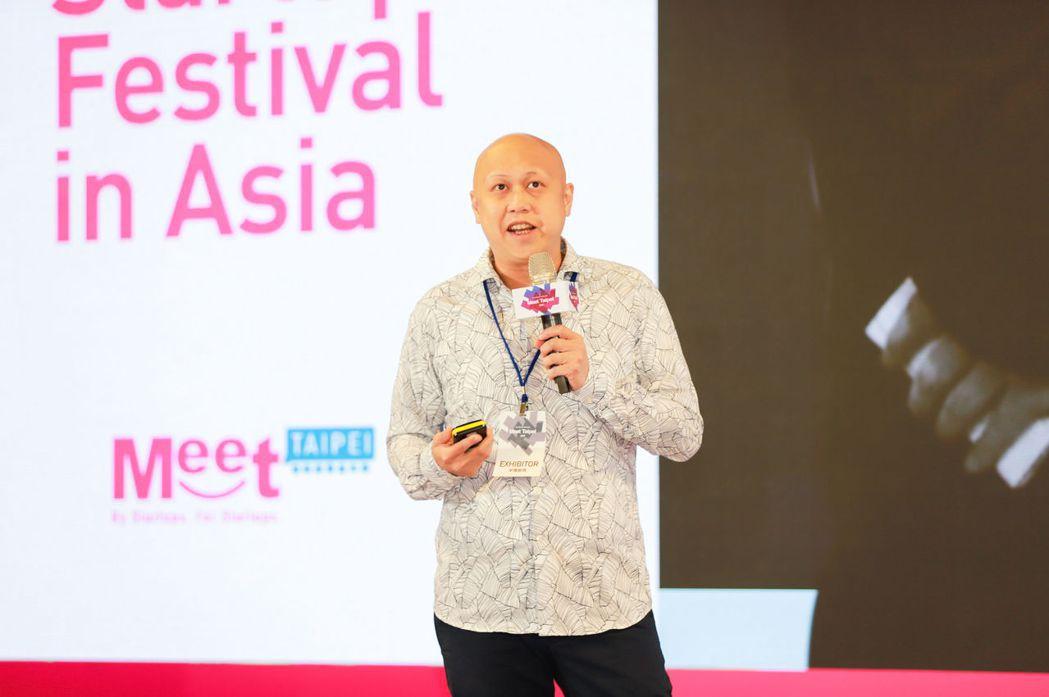 新創「Poseidon Network」以區塊鏈技術為底,出席Meet Taip...