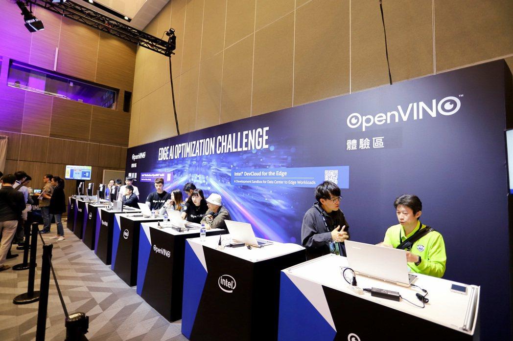 第三代發行版Intel OpenVINO工具套件現場特設專區提供專業人士體驗。 ...