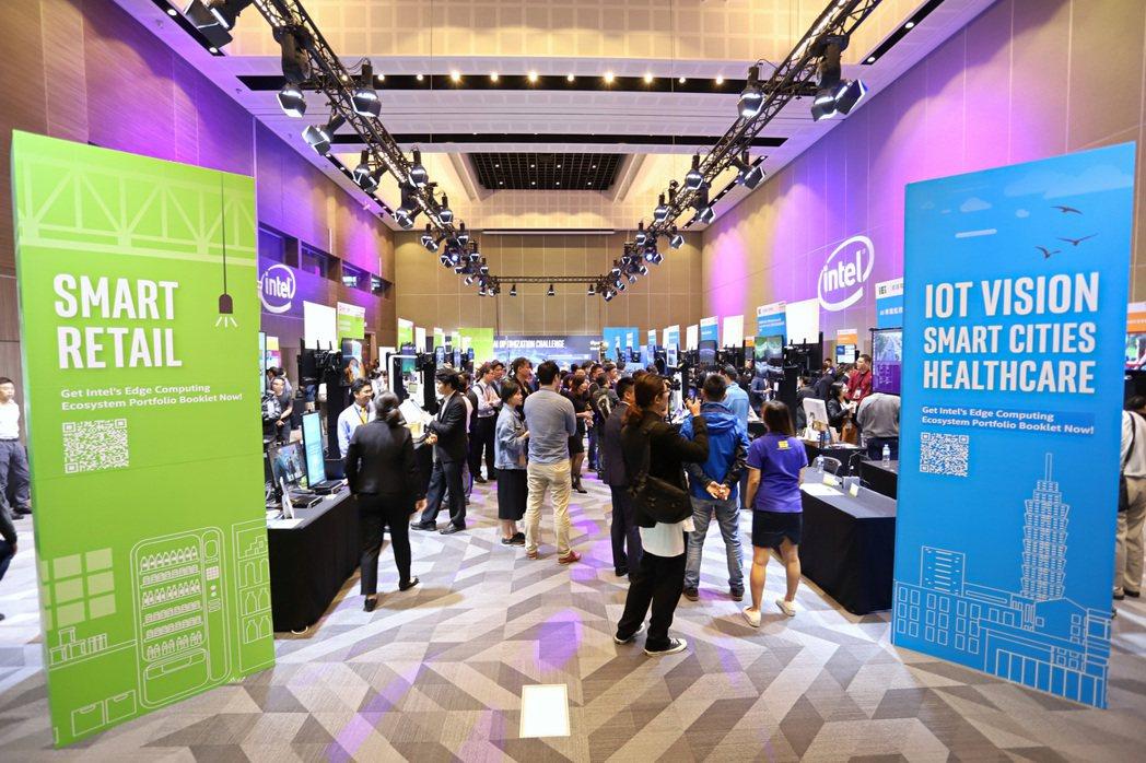 「INTEL邊緣運算解決方案高峰論壇」吸引數百位專業人士參與,鴻海、威達電、凌華...